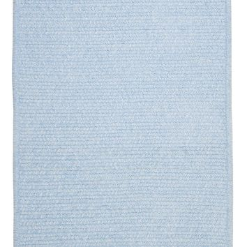Colonial Mills Simple Chenille M502 Sky Blue Kids/Teen Area Rug
