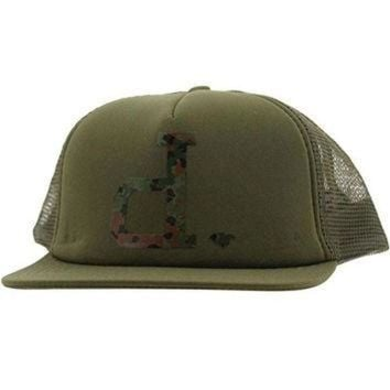 ONETOW Diamond Supply Co Un-Polo Camo Mesh Snapback Cap (army)