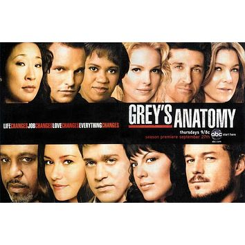 Grey's Anatomy 27x40 Movie Poster (2005)