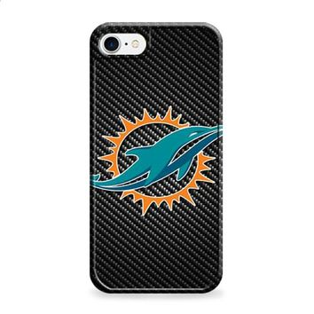Miami Dolphins carbon fiber iPhone 6 | iPhone 6S case