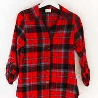 CLASSIC POCKETLESS FLANNEL