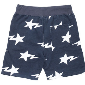 BAPE STA SWEATSHORTS - NAVY | Undefeated