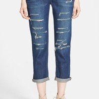 Paige Denim 'Jimmy Jimmy' Crop Boyfriend Jeans (Reggie Destructed)