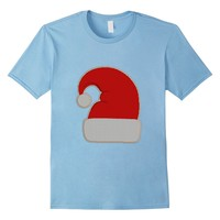 Santa Hat Ugly Christmas Sweater Tee