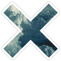 THE XX LOGO-BLUE CLOUDS