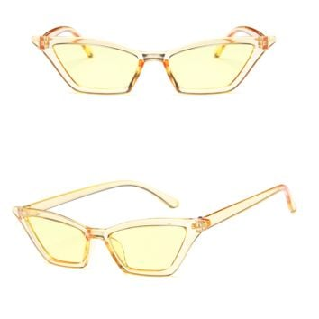 Colorist Cat-eye Sunglasses - Yellow