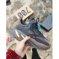 Adidas Yeezy 700 Boost Trending Women Men Stylish Running Sport Shoes Sneakers Coffee
