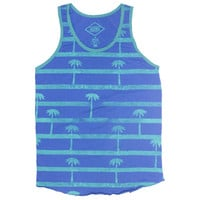 Palm Stripes Tank Top