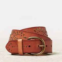 AEO CHEVRON STUDDED BELT