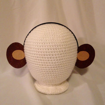 1 quantity headband monkey ears headband birthday party favors supplies costume invitation decor dress up hat children child adult baby