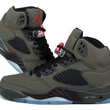 Cheap Air Jordan 5 Retro Men Shoes Fear Pack