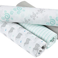 aden by aden+ anais Swaddleplus 4-pack - Baby Star