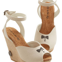 ModCloth Supper Club Wedge