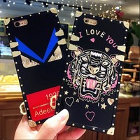 One-nice™ FENDI iPhone Phone Cover Case For iphone 6 6s 6splus 7 7plus hard shell
