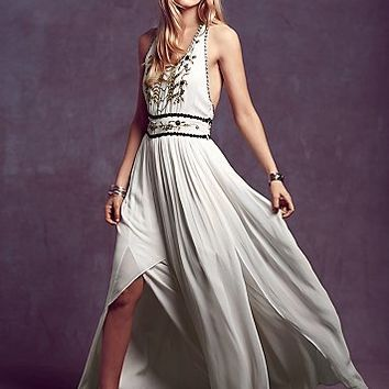 Free People Womens Beatrice Maxi Dress - White
