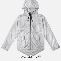 Fishtail Raincoat / Plaster