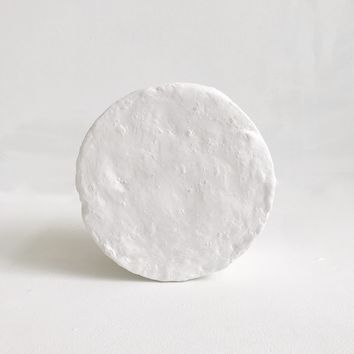Circle Plaster Sculpture