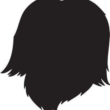 Havanese Silhouette Dog Puppy Breed Long Die Cut Vinyl Transfer Decal Sticker