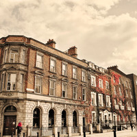 Dublin Street Art Photo, Ireland Urban Photography Print, City Home Decor