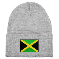 Jamaica MyCountry Solid Knit Hat (Sport Gray)