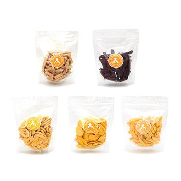 L'angfarm Langfarm Natural Organic Dried Vegetable Fruit Snack Crunchy Chip
