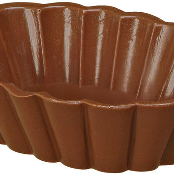 candy mold 2/pkg-dessert shell 3 cavities- 2 pc