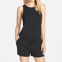 Women's Tart 'August' Sleeveless French Terry Romper