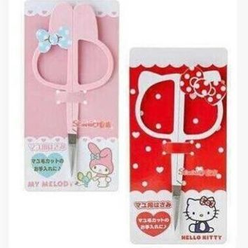 Tiny Size Cartoon Hello Kitty My Melody Sewing Line Scissors Size 10*5 CM Can Be Use For Makeup Scissors