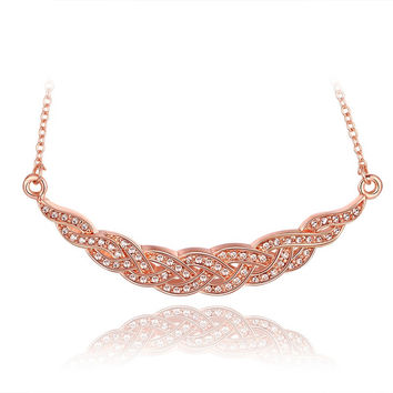 New 2016 Necklace Women jewelry 18K Gold necklaces & pendants XCXCDSIK