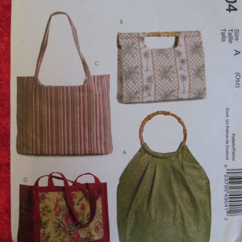 Spring Fever Sale UNCUT 2005 McCall's Sewing Pattern, M4904! Purses, Handbags, Stitch an Save, Bags, Diaper Bags etc