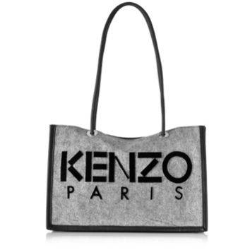 Kenzo Designer Handbags Canvas Tote Bag