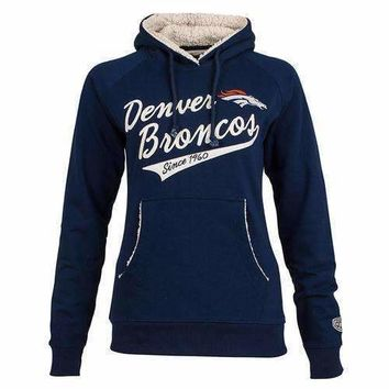 NFL Flair Hoodie Womens - Denver Broncos - X-Large