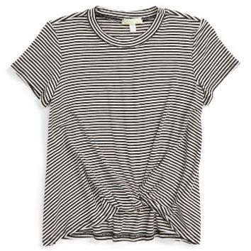 Love on Tap Knotted Stripe Tee | Nordstrom