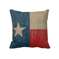 Vintage Texas Pillows from Zazzle.com