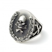 All Silver Wreath Ring - The Great Frog London
