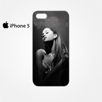 Ariana Grande Singer Yours Truly for Iphone 4/4S Iphone 5/5S/5C Iphone 6/6S/6S Plus/6 Plus 3D Phone case