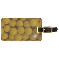 Sunny Smiley Face Gumballs Luggage Tag