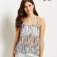 Lorimer Strappy Back Feather Tank