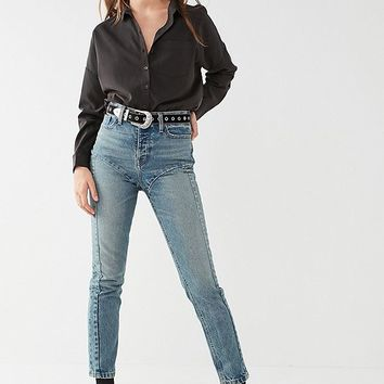 BDG High-Rise Straight + Narrow Jean - Cassidy | Urban Outfitters
