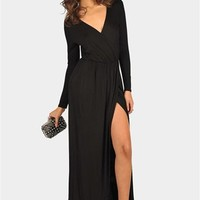 St. Thomas Maxi Dress - Black