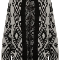 Knitted Aztec Cardi - Memorial Day 20% Off - Sale & Offers - Topshop USA