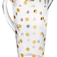 kate spade new york 'raise a glass' acrylic pitcher