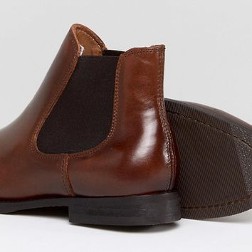 Selected Chelsea Leather Boot at asos.com