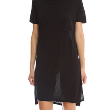 T by Alexander Wang Boatneck Dress