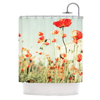 """Bree Madden """"Poppy"""" Shower Curtain, 69"""" x 70"""" - Outlet Item"""