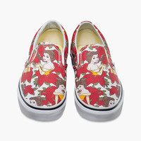 VANS Disney Belle Classic Womens Slip-On Shoes | Sneakers