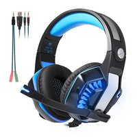 Beexcellent GM-2 Gaming Headset Headphone Earphone with Microphone, Supports New Xbox One PS4 PC, Xbox One Headphone PS4