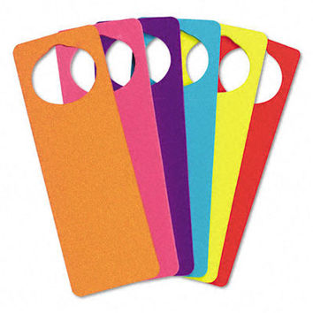 WonderFoam Door Knob Hangers 6 Asst Colors