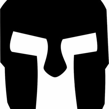 300 Spartan Helmet movie Adhesive Decal Sticker Vinyl Decorative for Wall Car Auto Ipad Macbook Laptop