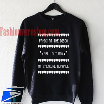 Panic At The Disco Fall Out Boy Sweatshirt - fashionveroshop